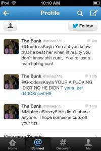 mikea775's misogynist vile tweets