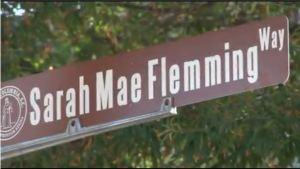 Sarah Mae Flemming sign