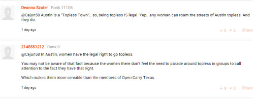 commenters pwning the law noob