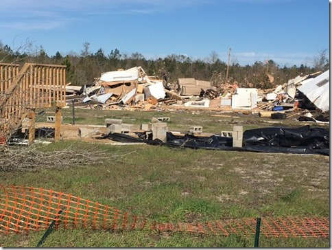 eastern Bulloch County damage
